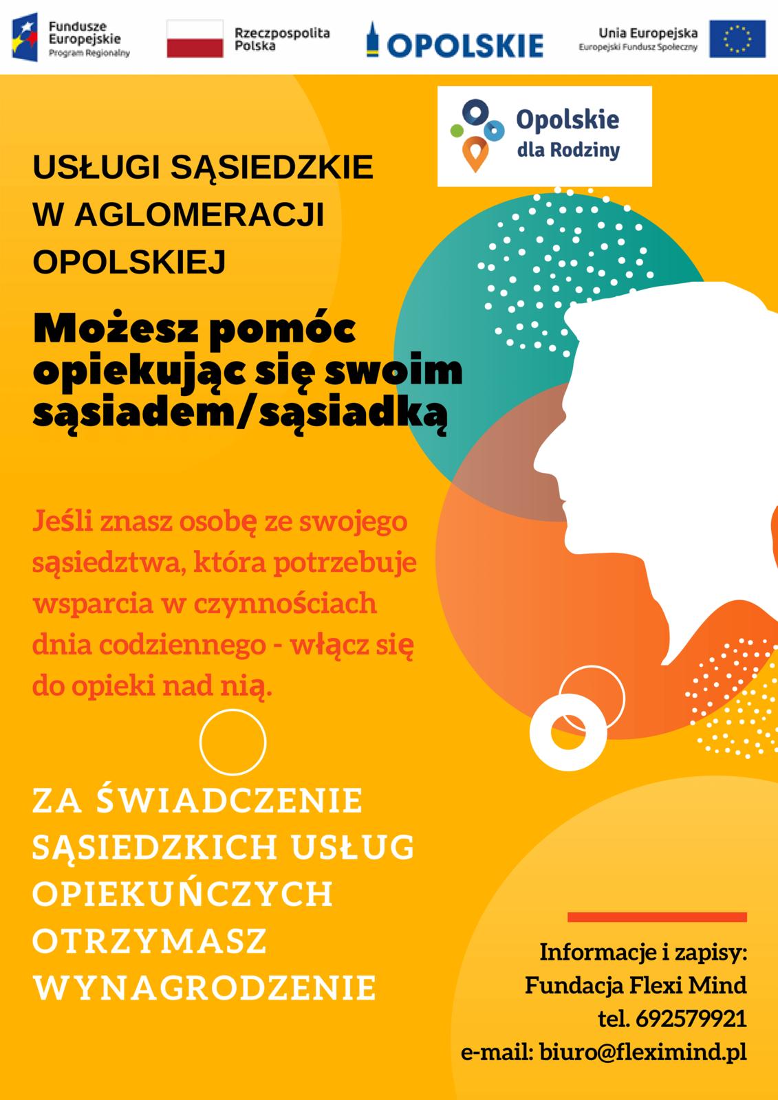 Plakat zawierający informacje na temat projektu. Treść plakatu zgodna z informacją poniżej