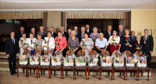 Galeria Złote Gody - jubileusz 50-lecia pożycia małżeńskiego w Gminie Łubniany
