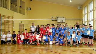 Galeria Finał Wojewódzkich Igrzysk LZS w Mini Piłce Siatkowej Chłopców