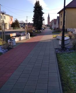 Galeria Odnowa centrum miejscowości Brynica poprzez budowę ścieżki pieszo rowerowej wraz z infrastrukturą towarzyszącą