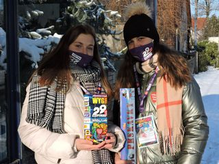 Wolontariuszki WOSP w Masowie