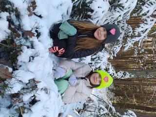 Dzieci w śniegu