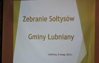 Galeria Spotkanie Senator Danuty Jazłwoeickiej z Sołtysami Gminy Łubniany