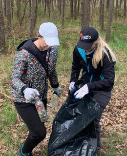 Galeria Akcja zbierania śmieci w Masowie 24.04.2021